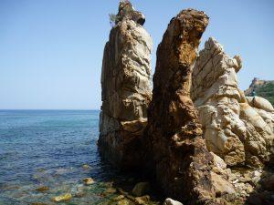 skały w Tunezji