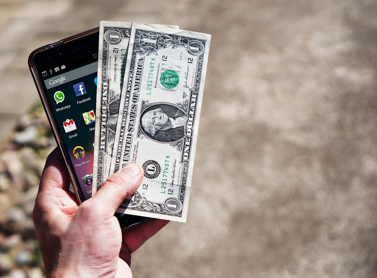 telefon i dolary