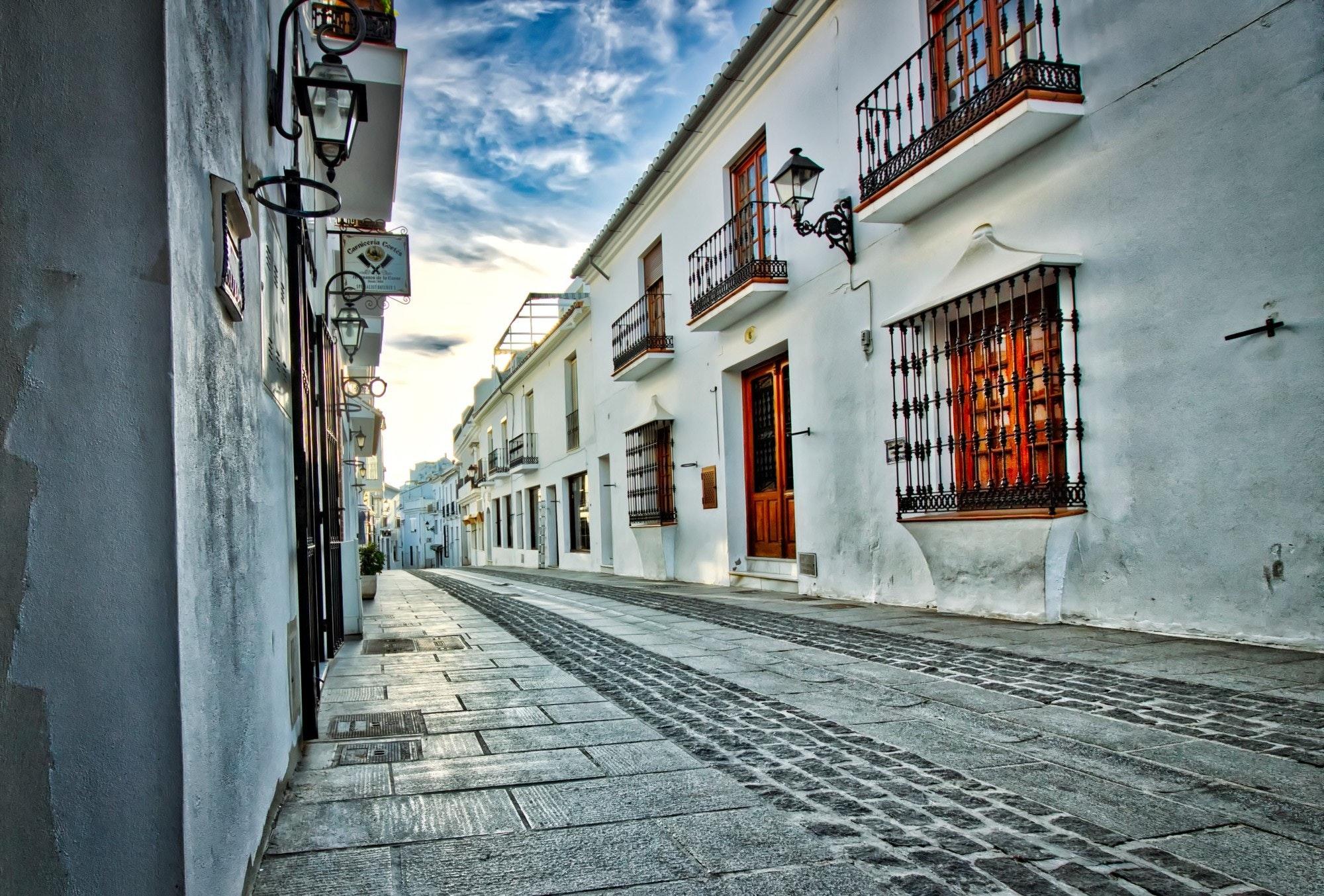 uliczka w Hiszpani