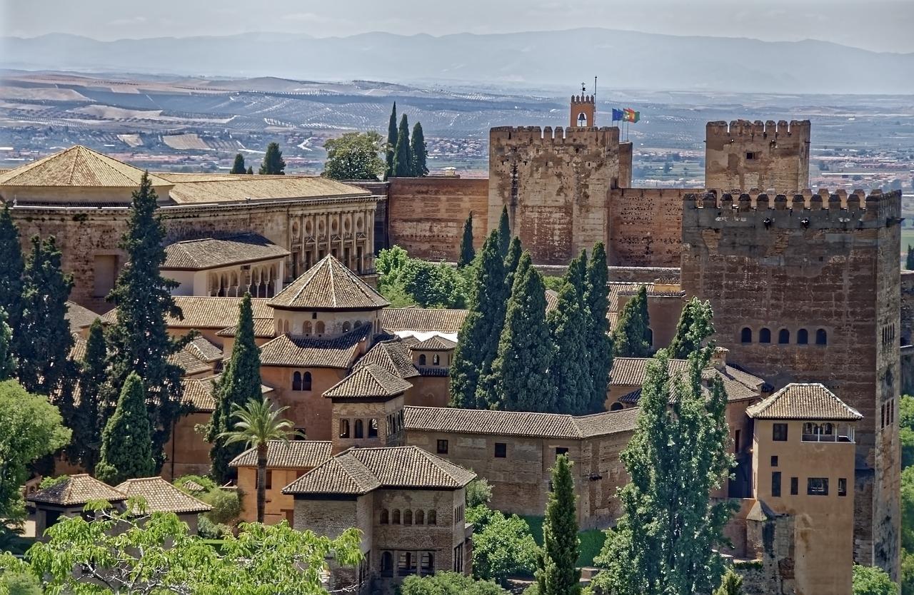 Twierdza Zamek, Granada Hiszpania