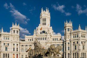 Skwer w Madrycie